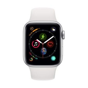 Apple Watch Series 4 (40 mm) (White Sport Band)